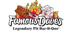 Famous Dave's Legendary Bar-B-Que, Famous Dave's BBQ, Famous Dave's BBQ Restaurant Delivery,	Famous Dave's BBQ Delivered Anywhere in Lincoln Nebraska, Famous Dave's BBQ Menu