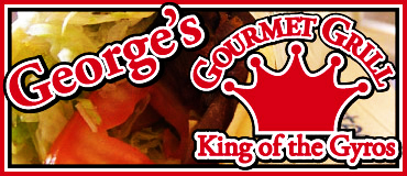 George's Gourmet Grill, George's Great Gyros, George's Gourmet Grill Restaurant Delivery, George's Gourmet Grill Delivered Anywhere in Lincoln Nebraska, George's Gourmet Grill Menu