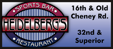 Heidelberg's Sports Bar & Restaurant Menu - Lincoln NE - Provided by Metro Dining Delivery