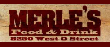 Merle's Food & Drink Menu Lincoln Nebraska