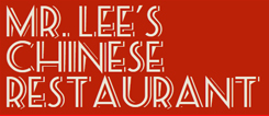 Mr Lee's Chinese Restaurant Menu