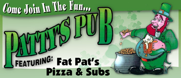 Patty's Pub & Pizza Menu Lincoln Nebraska
