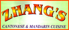 Zhang's Cantonese & Mandarin Cuisine - Take-Out & Delivery Menu - Lincoln NE